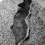 46-mattia-trotta-artista-sculture-filo-metallico-ferro-bronzo-alluminio-rame-Ovoid-Devoid-IV-Felicita